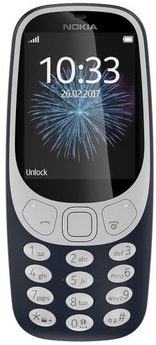 Nokia 3310 Dual Sim dark blue ENG/RUS (Nokia 3310)