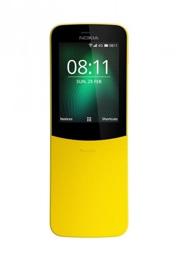 Nokia 8110 4G Dual yellow
